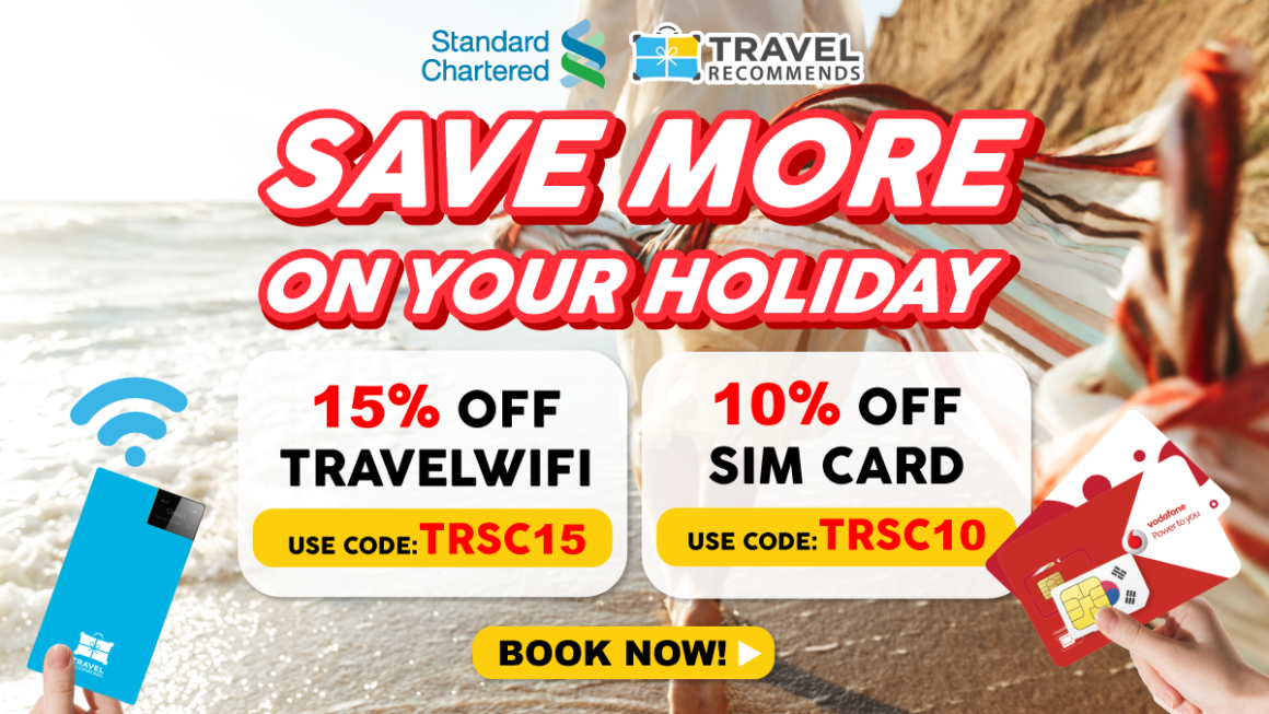 Standard Chartered x Travel Recommends