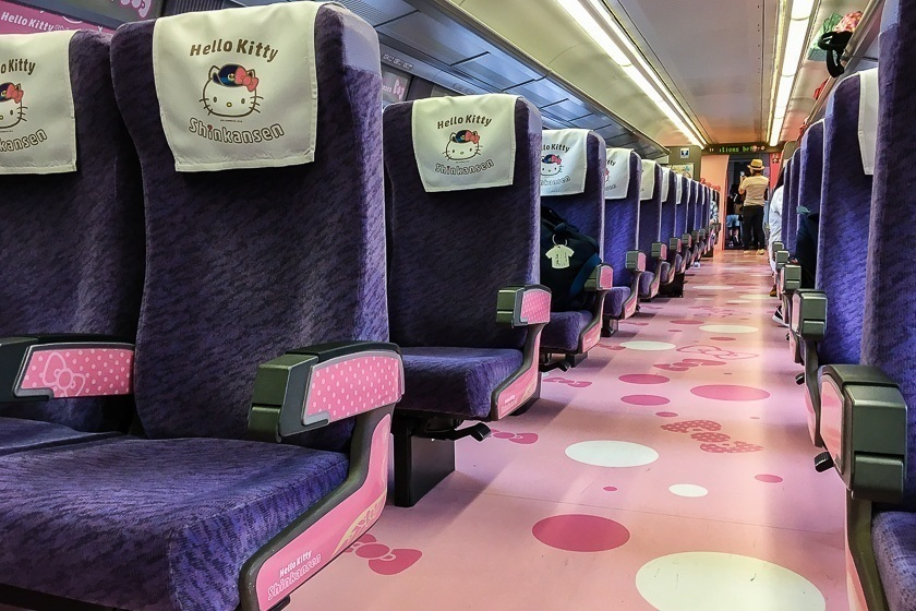 Pink bubbles on the floor in the Kawaii! Room