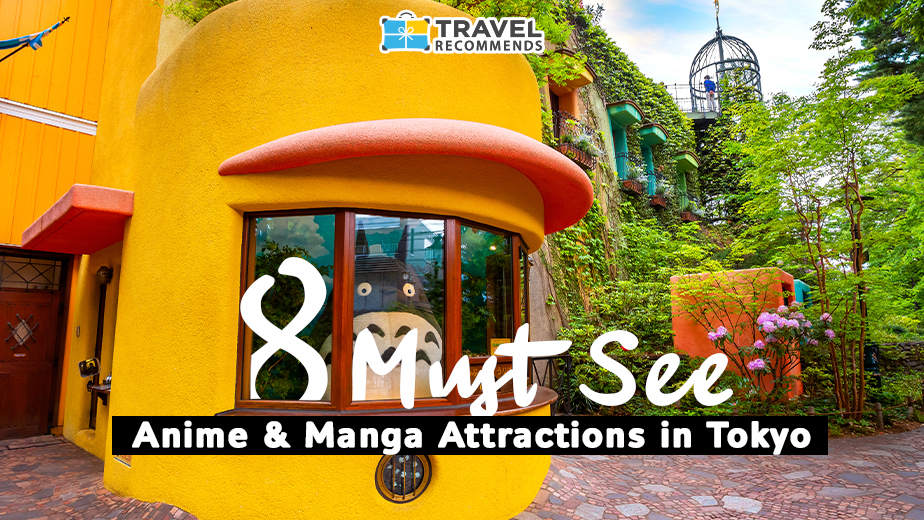 8 must see anima & manga attractions in tokyo japan