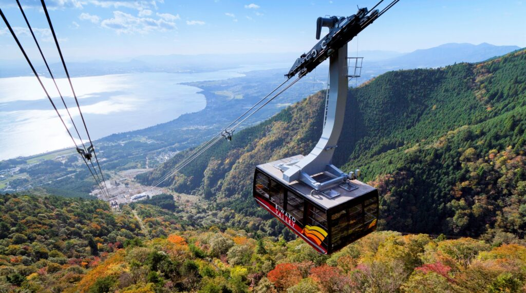 Biwako Valley and Keisoku-ji Temple, Osaka Ropeway