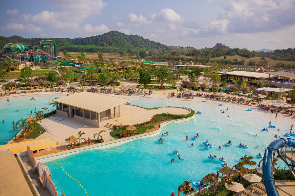 Ramayana Water park Thailand - Wave Pool