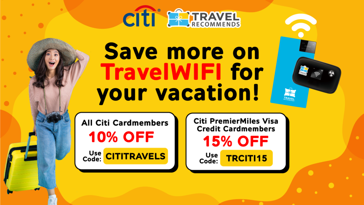 Citibank x Travel Recommends