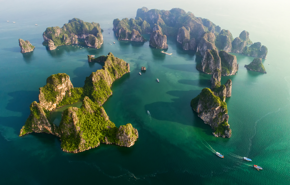 Ha Long Bay Vietnam UNESCO sites in vietnam
