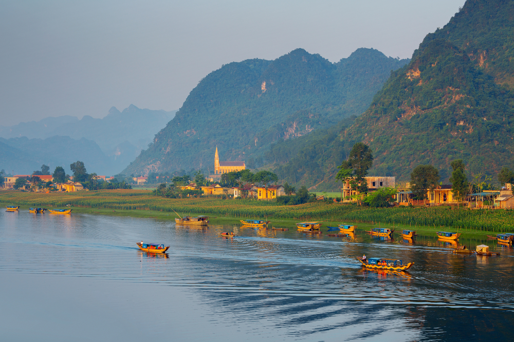 UNESCO sites in vietnam phong nha