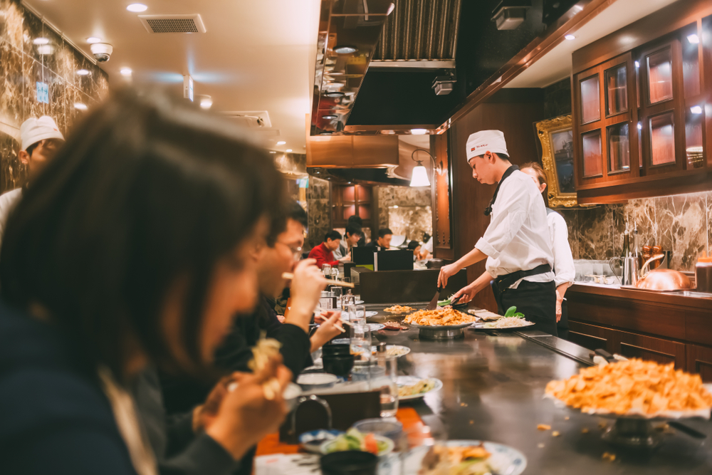 Dining out in Japan - japan consumption tax hike