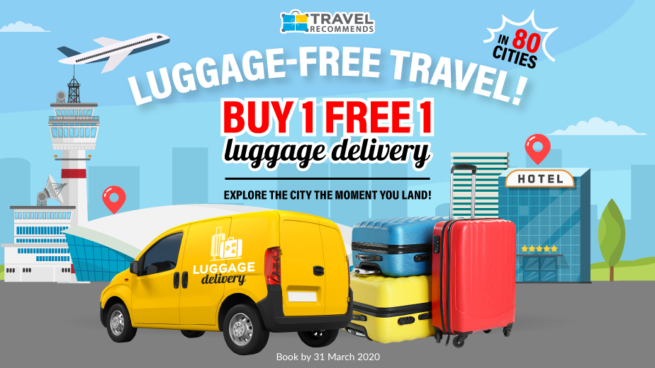 Same Day Luggage Delivery Services + 1-for-1 deal inside!