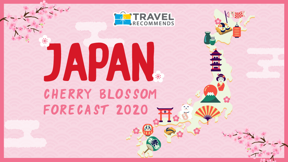 Japan cherry blossom forecast 2020