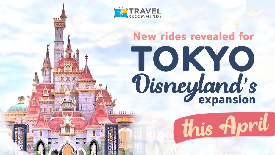 New rides revealed for Tokyo Disneyland's expansion this April