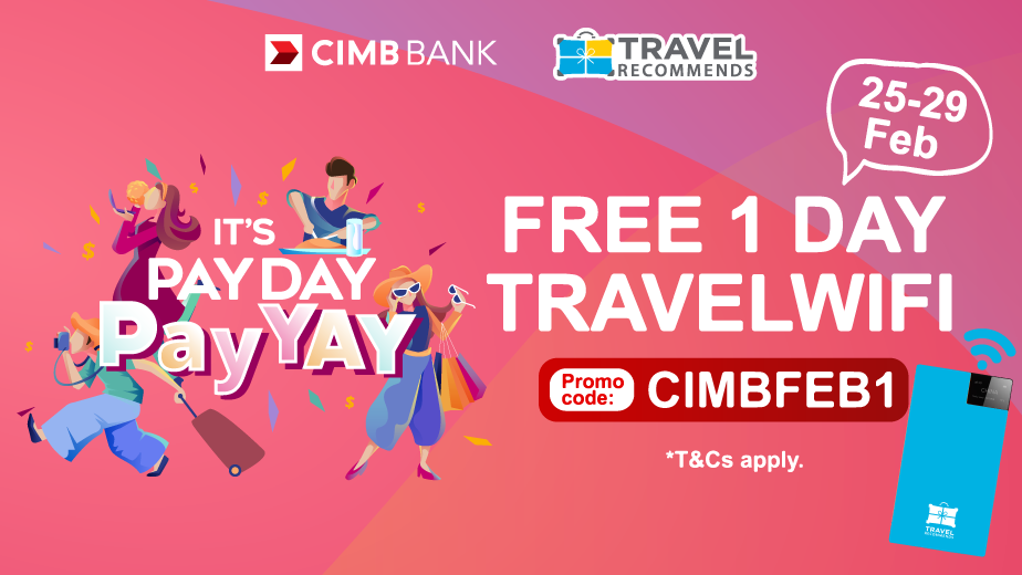 Feel Good with CIMB PayDayDeals!