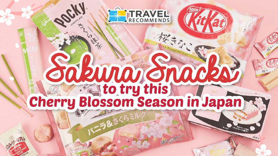 Sakura Snacks to try this cherry blossom season in Japan