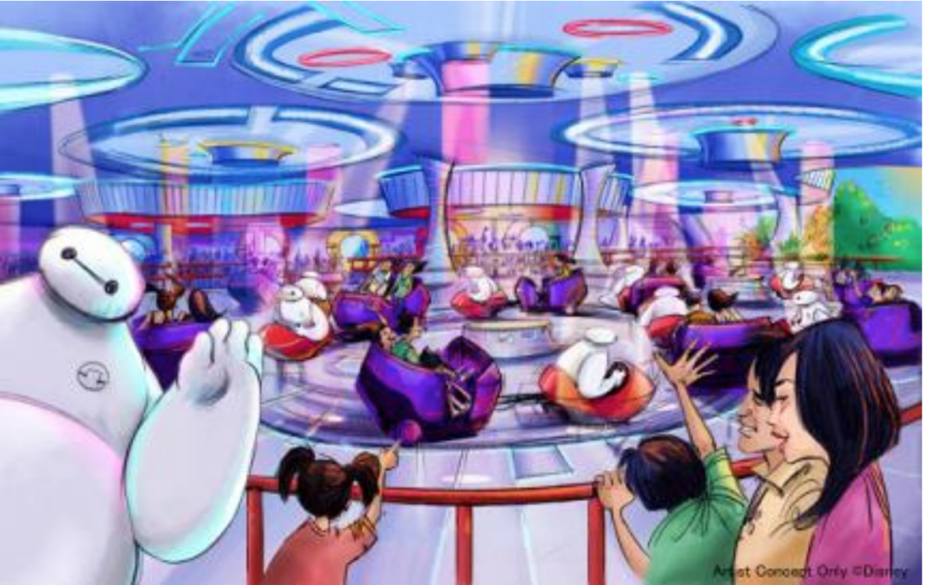 The Happy Ride with Baymax in Tokyo Disneyland
