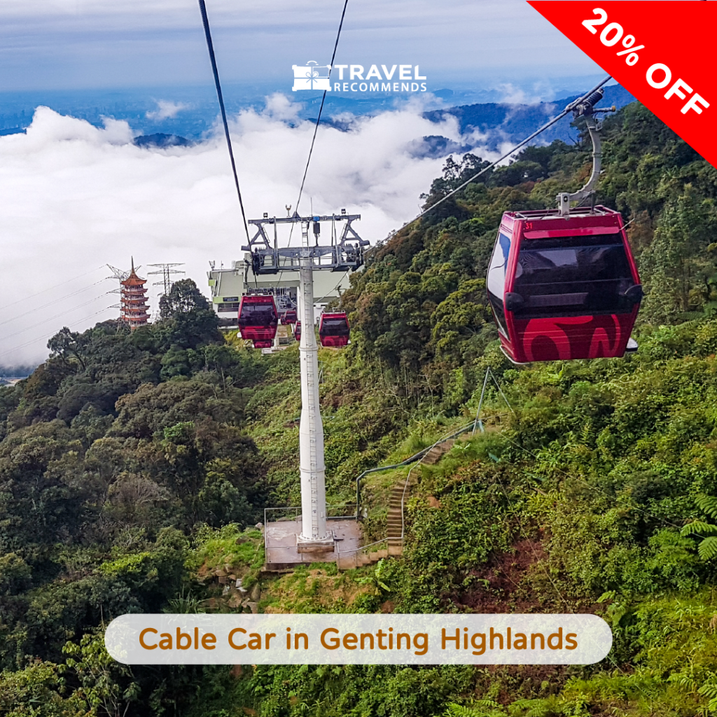 Cable Car in Genting Highlands