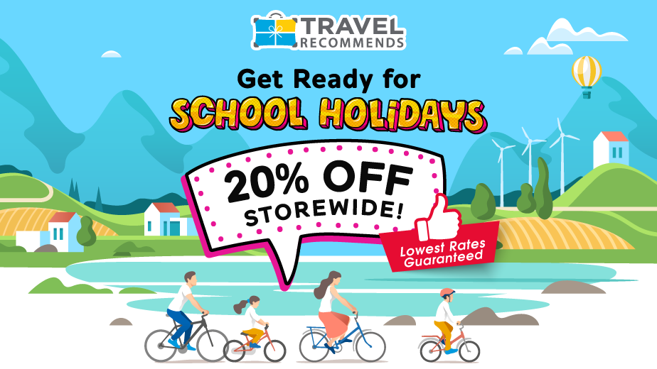 March School Holiday Sale – 20% OFF ALL Attractions!