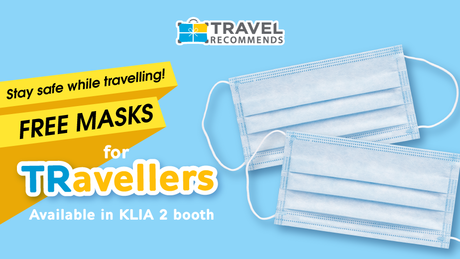 Your Safety Matters – Free Masks for Travellers
