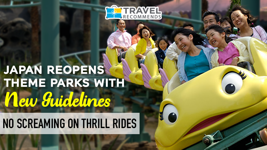 Japan Reopens Theme Parks with New Guidelines – No Screaming on Thrill Rides