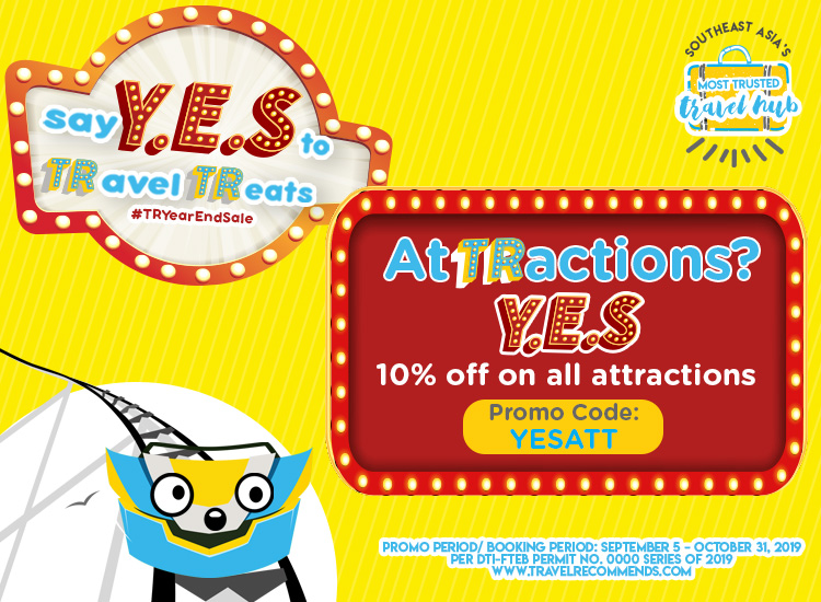 Our Biggest YEAR END SALE on Tours, Attractions and Activities