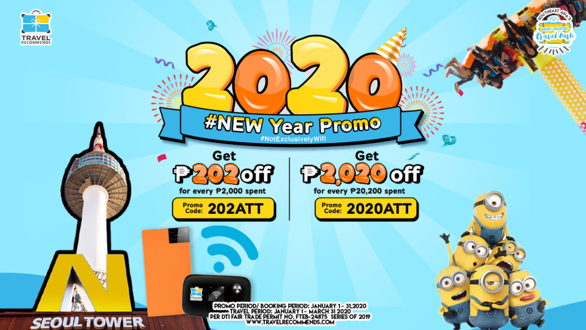 2020 NEW Year Attractions Promo