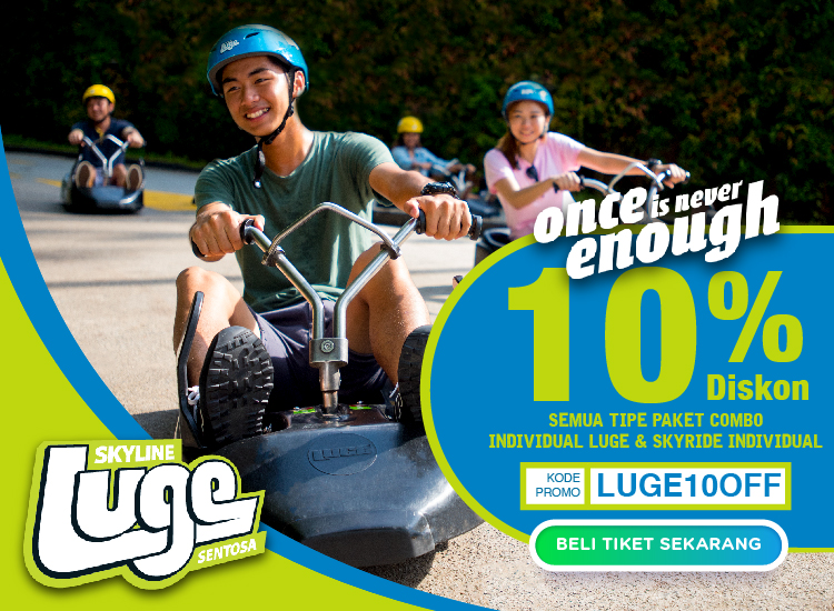 Luge Sentosa x Travel Recommends