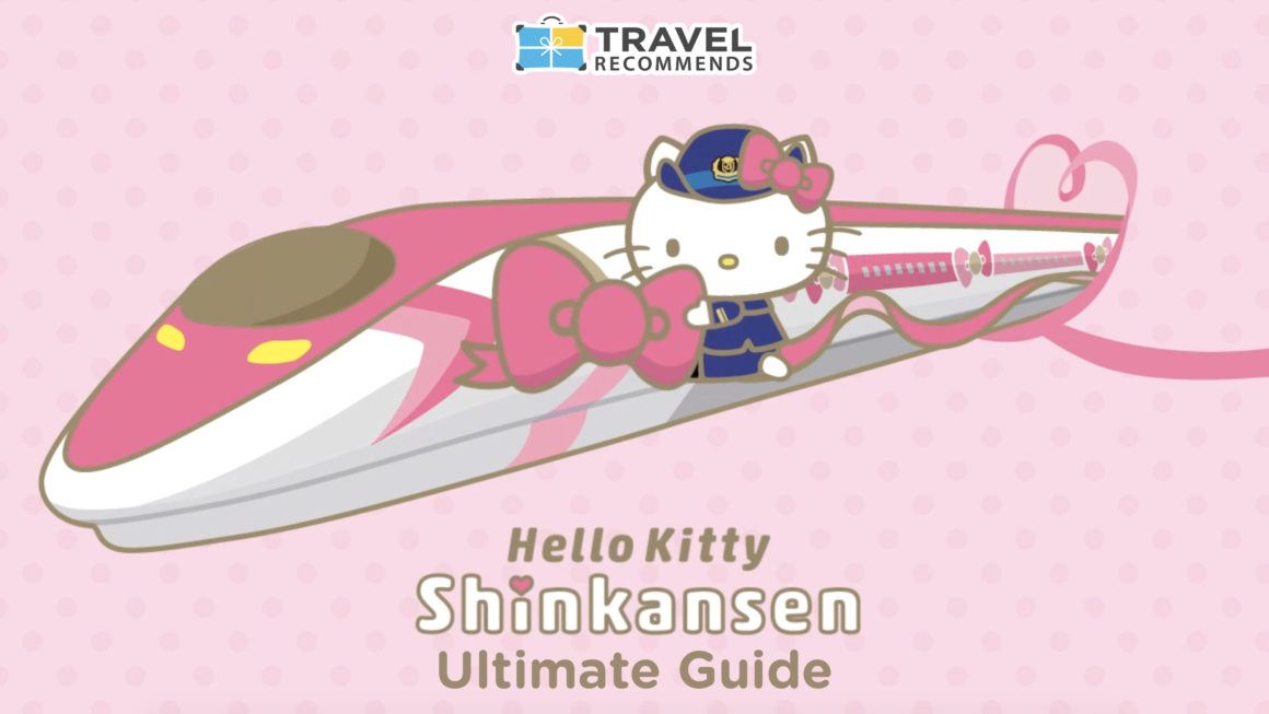 Kereta Shinkansen Hello Kitty Japan