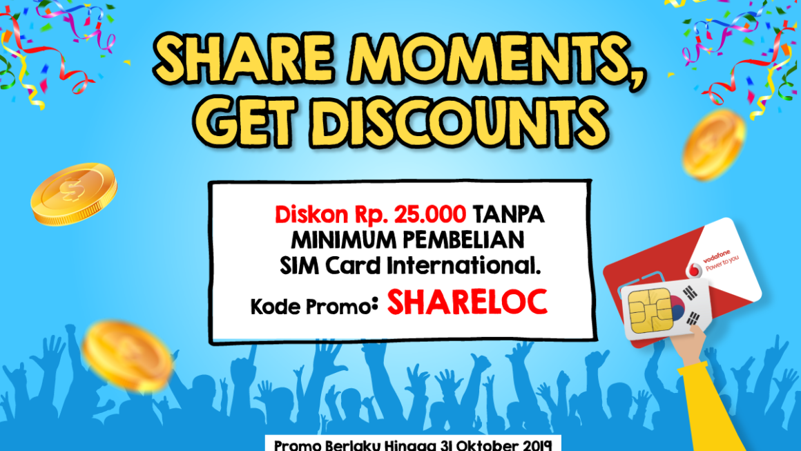 Share Moments – SIM Card Promo
