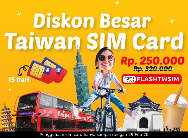 FLASH SALE TAIWAN SIM CARD